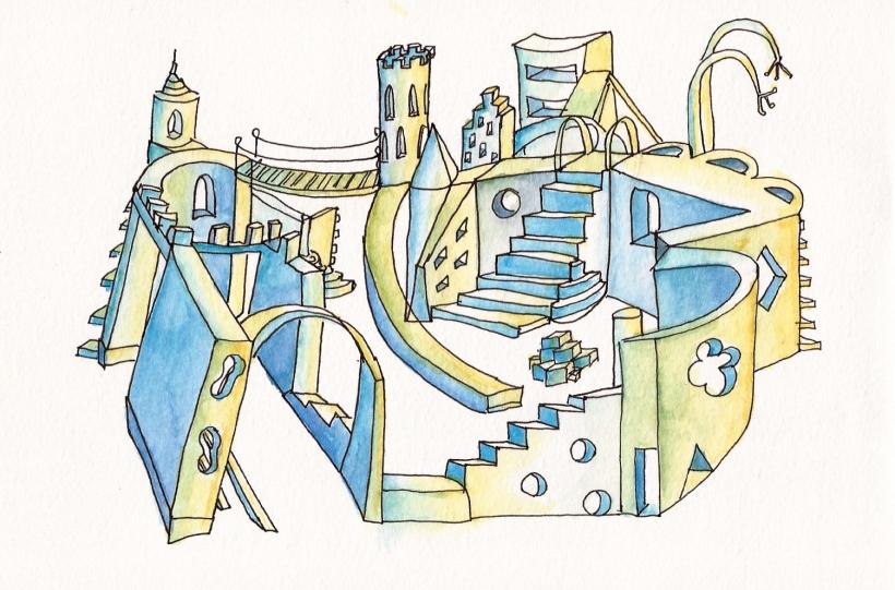 imaginary city azul-001