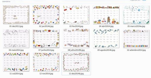 13 Calendarios
