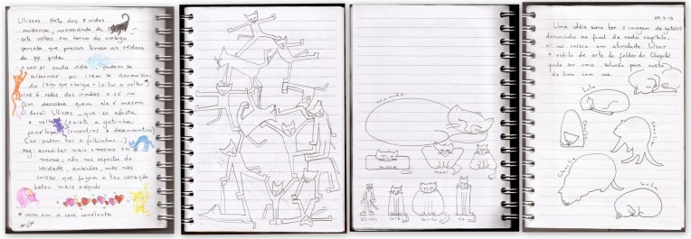 2013 10 17 Desenhos Gato Ulisses esboços-001