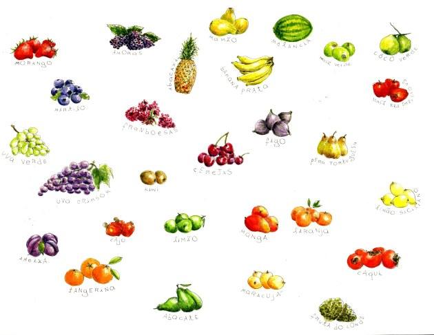 frutas pequeno