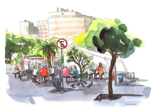 Karina Kuschnir IMAGEM IMS Post Urban Sketchers Rio de Janeiro