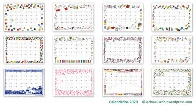 Calendarios Karina Kuschnir